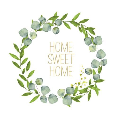 PPD Servietten Home Sweet Home 33x33cm