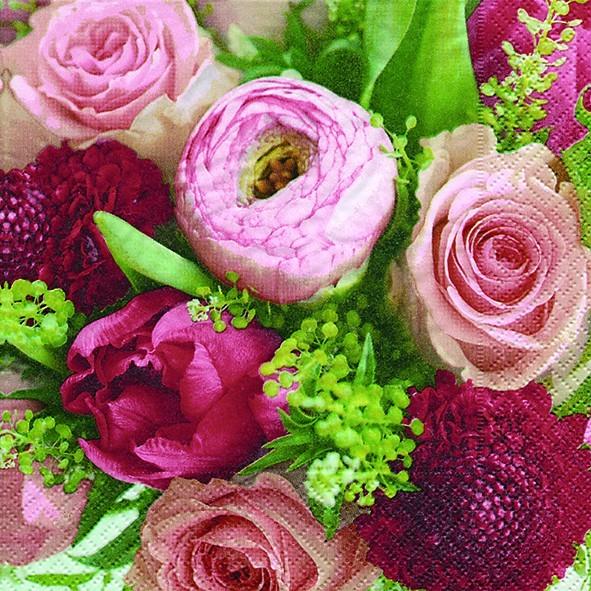 20 Servietten A Wealth of Flowers – Reich an Blumen 33x33cm