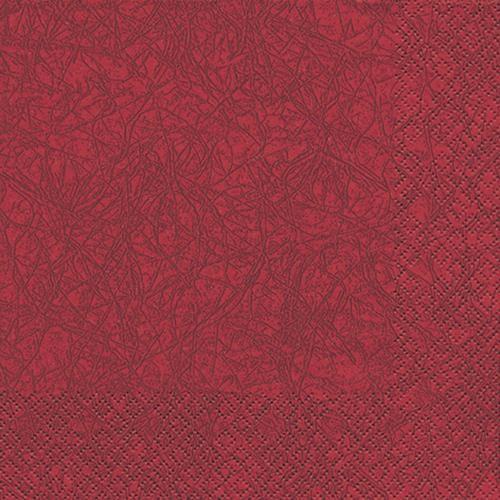 20 Servietten Modern Colours bordeaux 33x33cm