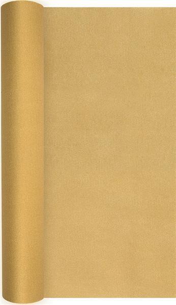 Tischläufer Uni gold 490x40cm