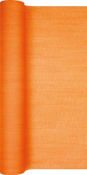 Tischläufer Struktur orange 490x40cm