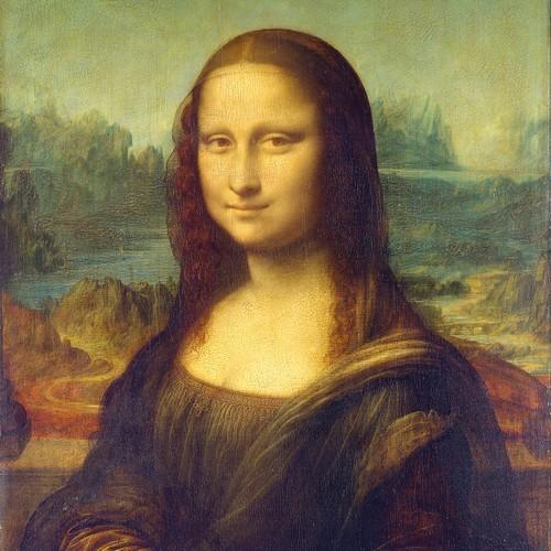 20 Servietten Mona Lisa (La Gioconda) 33x33cm