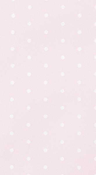 Mitteldecke Mini Dots rose - Minipunkte rosa 80x80cm