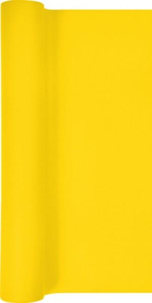 Tischläufer Uni gelb 490x40cm