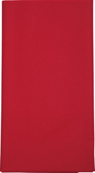 Mitteldecke Uni rot 80x80cm