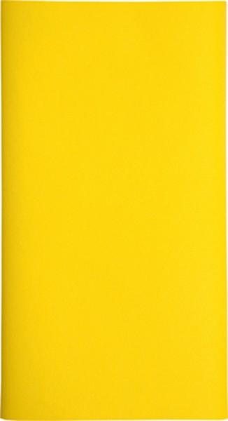 Mitteldecke Uni gelb 80x80cm