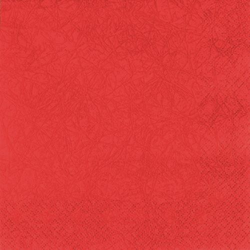 20 Servietten Modern Colours cardinal red 33x33cm