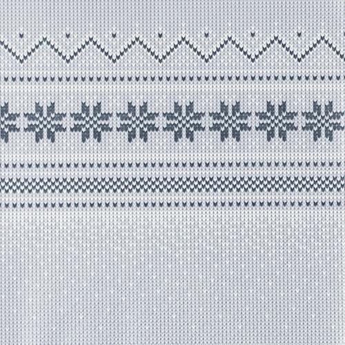 20 Servietten Knitted nordic 33x33cm