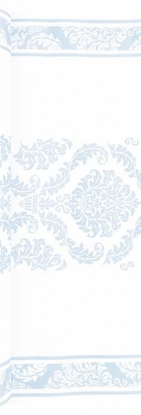 Tischläufer Elegant blue - Muster hellblau 490x40cm