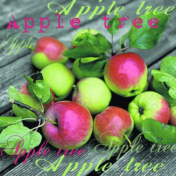 RP 20 Servietten From the Apple Tree - Vom Apfelbaum 33x33cm